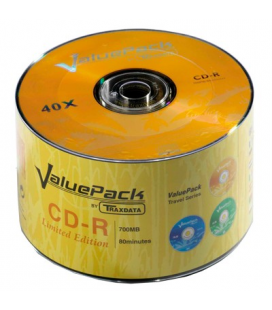 Disque compact enregistrable CD-R Valuepack